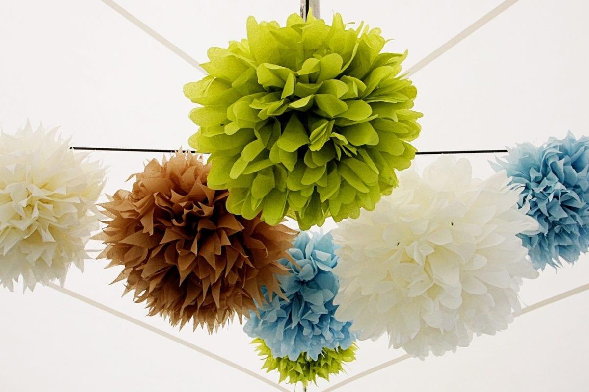 Как сделать объемные шары из гофрированной бумаги
