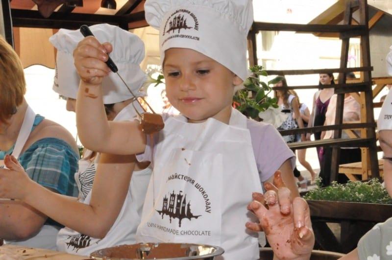 Шоколадный мастер класс для детей идеи #3