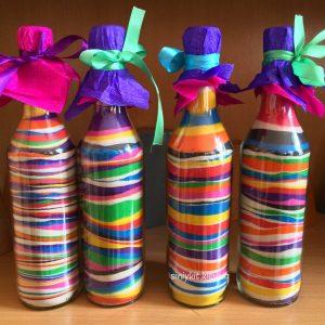 рисунки цветным песком в бутылке для взрослых 1