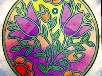 Мастер-класс «Картина из  цветного песка»