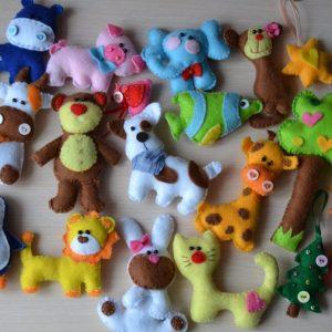 фетровые игрушки