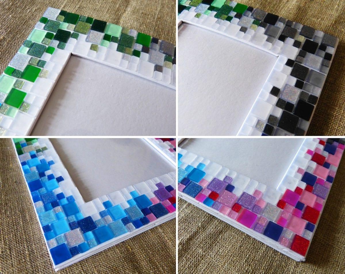 Как сделать мозаику своими руками в домашних 863