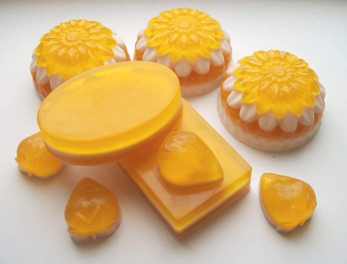Мыло с медом своими руками из детского мыла