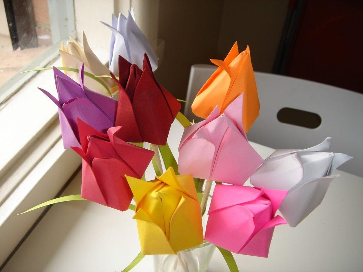 поделки оригами схемы поделки из модулей