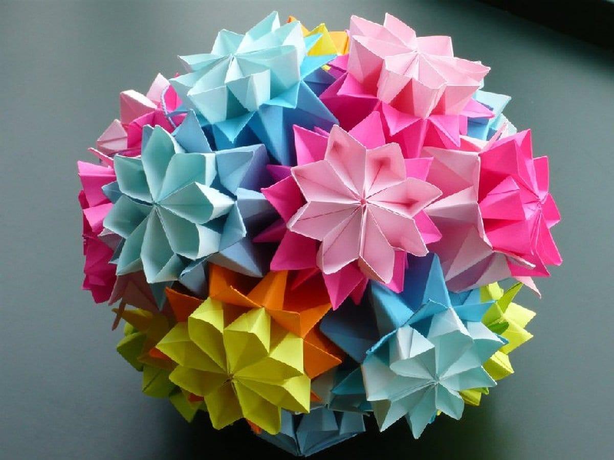 Оригами своими руками мастер класс фото 591