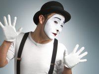 Пантомима. Мастер-класс для детей. Услуга мима