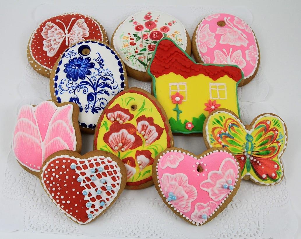 Роспись печенья мастер класс