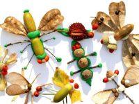 Поделки из природных материалов для детей