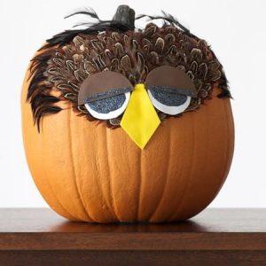 Детский декор тыквы на Хэллоуин 2