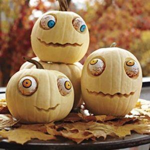 Детский декор тыквы на Хэллоуин 4