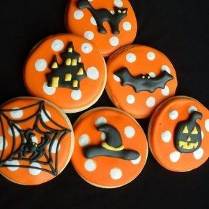 блюда на хэллоуин для детей пряники