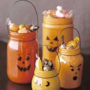 декор тыквы на Хэллоуин