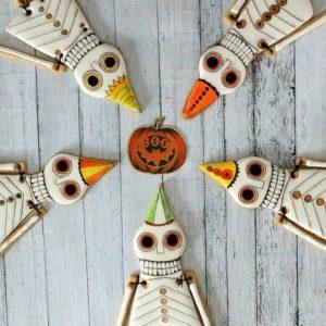 страшные пряники на хэллоуин