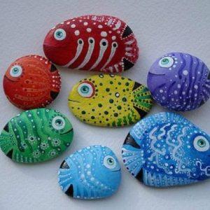 Рисунки на камнях