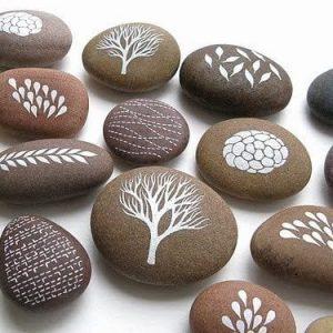 Роспись камней киев 1