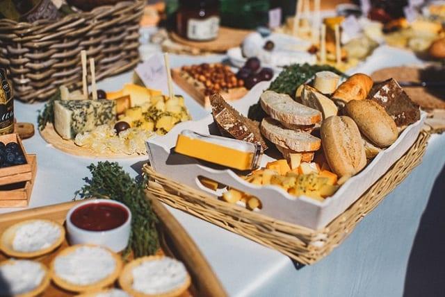 Сырные столы на свадьбу 92