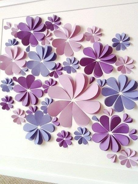 Поделки для декора из бумаги