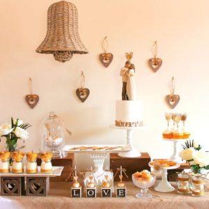 Candy bar на свадьбе 11