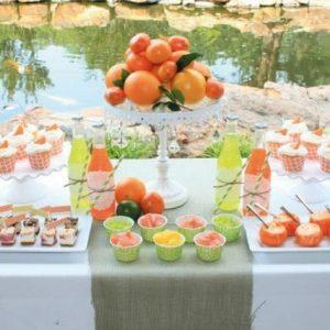 Candy bar на свадьбе 4
