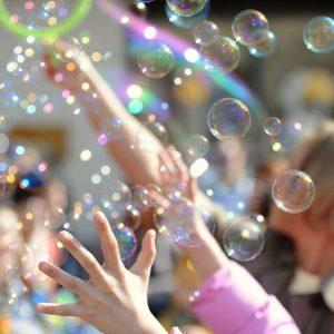шоу мыльных пузырей 1