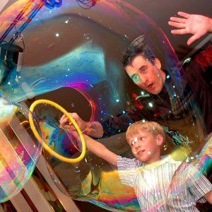 шоу мыльных пузырей 2