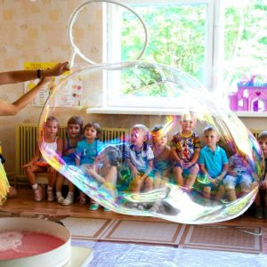 шоу мыльных пузырей 3