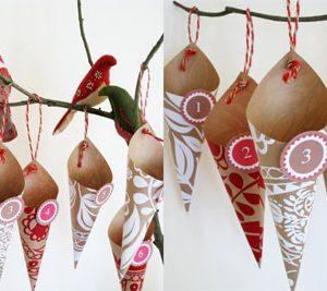 Рождественские календари своими руками 10