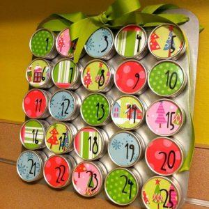 Рождественские календари своими руками 13
