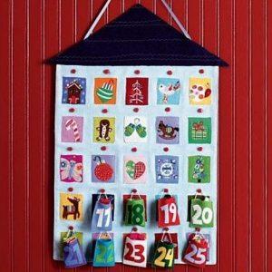 Рождественские календари своими руками 14