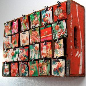 Рождественские календари своими руками 18