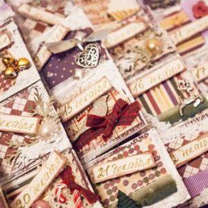 Рождественские календари своими руками 24