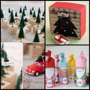 Рождественские календари своими руками