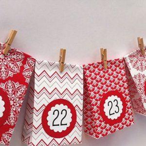 Рождественские календари своими руками 7