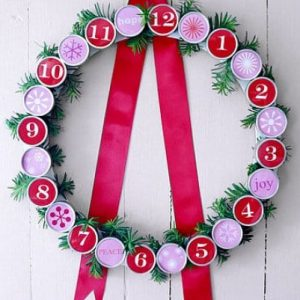 Рождественские календари своими руками 8
