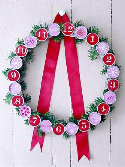 Рождественский календарь сделать своими руками