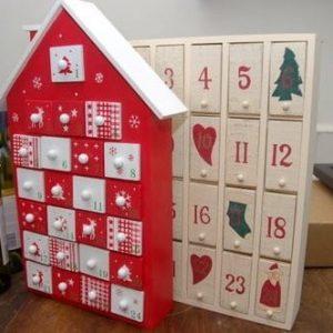 Рождественские календари своими руками 9
