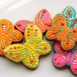 пряничные бабочки