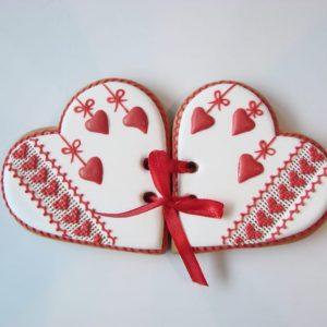 Валентинки-печенье на 14 февраля 4