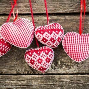 мастер-класс по шитью на день Св. Валентина