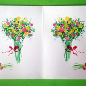 открытка на 8 марта своими руками 6
