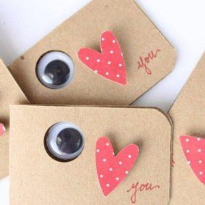 открытки ко дню святого валентина своими руками 3