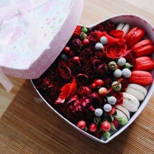 подарочные коробочки из цветок