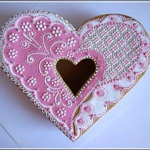 пряничная шкатулка для влюбленных 1