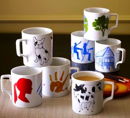 Декорировать чашку своими руками
