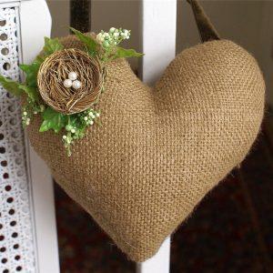 текстильные валентинки своими руками