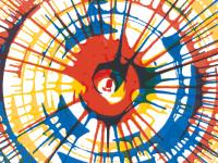 Мастер-класс в технике Спин арт Киев (Spin Art). Арт-аура