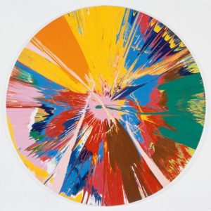 Мастер-класс в технике Spin Art 3