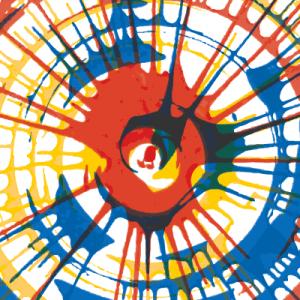 Мастер-класс в технике Spin Art