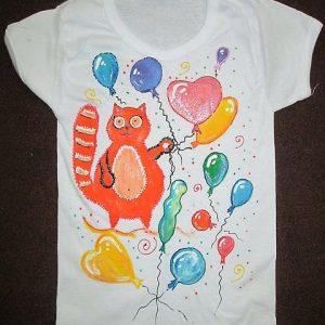 Мастер-класс по росписи футболки 2