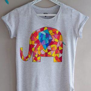 Мастер-класс по росписи футболки 5
